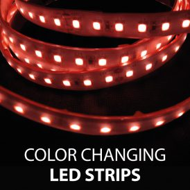 Color Changing RGB LED Strips