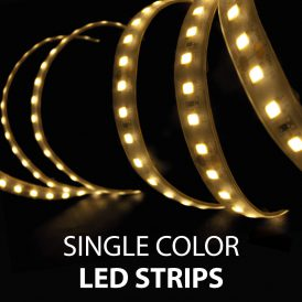 Single Color LED Strips